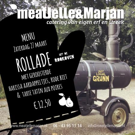 Meat Jelle & Marjan, catering, Afhaalmaaltijden, Lageland, Groningen, studio Hille