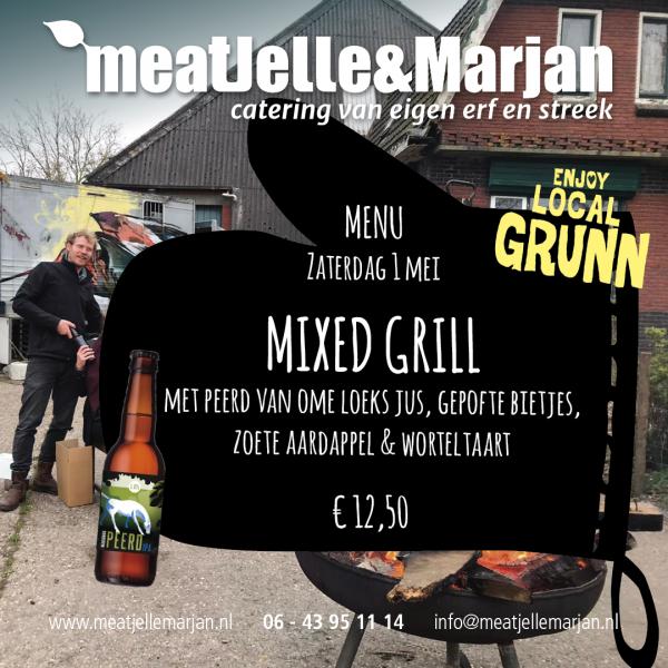 meat Jelle & Marjan, catering, Lageland, Groningen, Afhaalmaaltijden, Mixed Grill, studio Hille