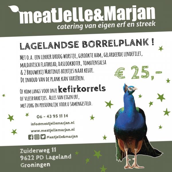 Meat Jelle & Marjan Catering Lageland Groningen Borrelplank studio Hille