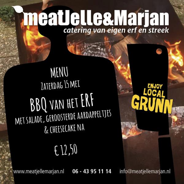Meat Jelle & Marjan, Lageland, Groningen, Afhaalmaaltijden, BBQ, studioHille
