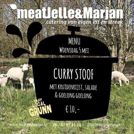 Meat Jelle & Marjan, catering, Lageland, Groningen, Curry, goelong, studio Hille