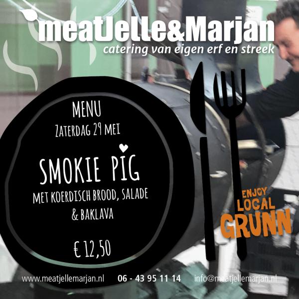 Meat Jelle & Marjan, catering, afhaalmaaltijden, Lageland, Groningen, studioHille