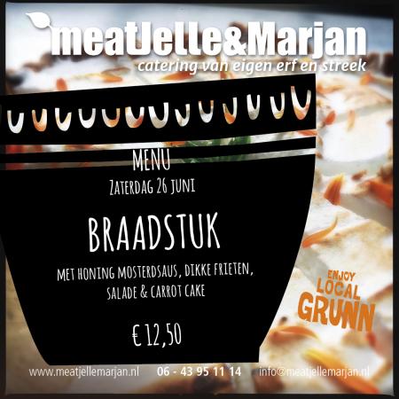 MeatJelleMarjan, catering, Lageland, Groningen, studio Hille