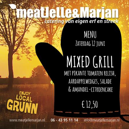MeatJelleMarjan, afhaalmaaltijden, catering, Lageland, Groningen, studio Hille