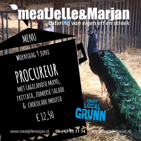 Meat Jelle & mMarjan, Afhaalmaaltijden, Catering, Lageland, Groningen< studiohille