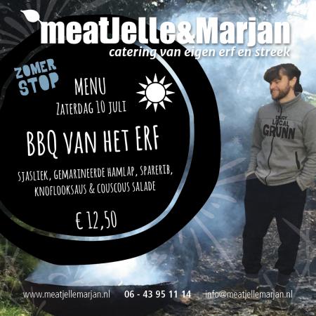 MeatJelleMarjan, afhaalmaaltijden, zomerstop, catering, Lageland, Groningen, studio Hille