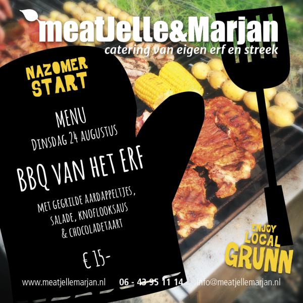 Meat Jelle en Marjan, catering, Lageland, Groningen, studioHille